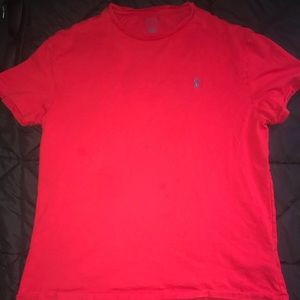 Polo by Ralph Lauren! Red tee